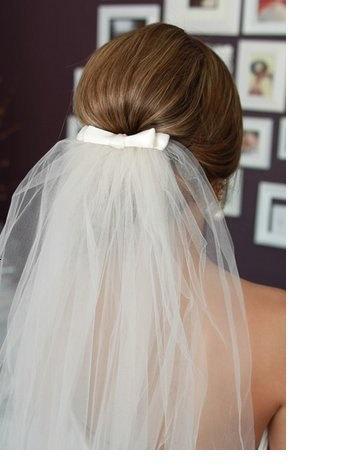 Hochzeit - Bow Veil