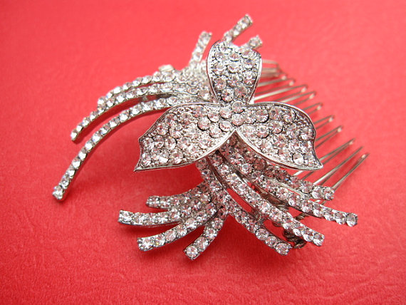 Wedding - Bridal hair comb wedding hair comb bridal hair accessory wedding comb bridal headpiece wedding accessory bridal hair piece wedding jewelry