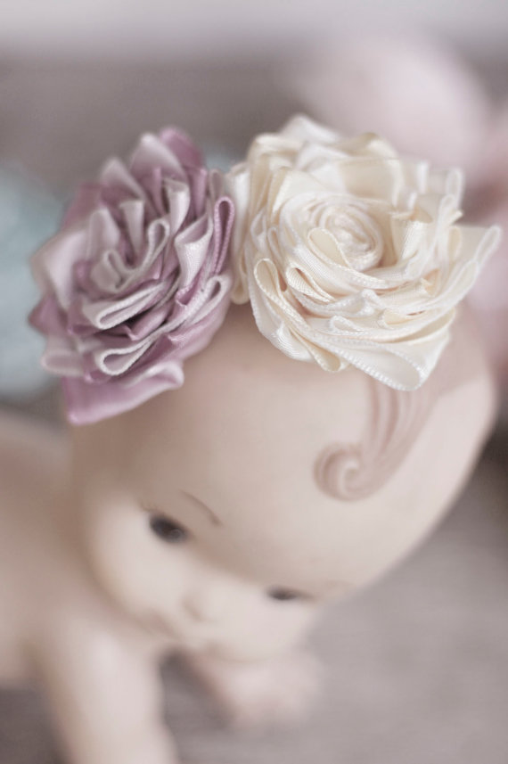 diy no sew ribbon flowers - photo #10