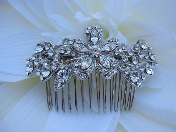 زفاف - Bridal hair comb wedding accessory bridal hair accessory wedding hair comb bridal headpiece bridal hair jewelry wedding comb bridal jewelry