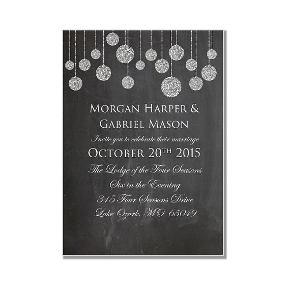 "Свадьба - Chalkboard Wedding Invitation - String Lights Invitation - INSTANT DOWNLOAD ""Chalkboard String Lights"" - Microsoft Word"