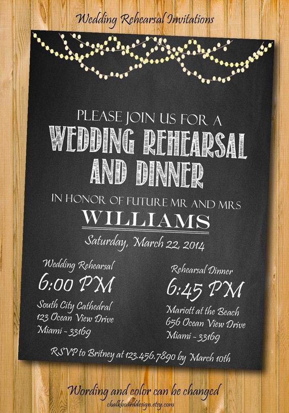 Свадьба - Rehearsal Dinner Invitation, Printables, Custom Dinner invitation, DIY, wedding rehearsal invitation