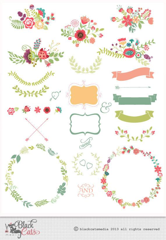 free wedding scrapbook clipart - photo #6