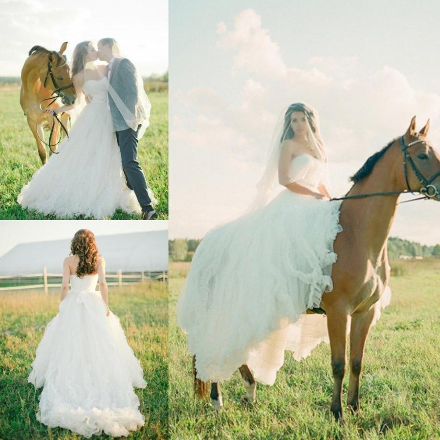 2015 new style real wedding dreeses sweetheart appliques a line sweep train tulle custom made elegant spring garden beach bridal gowns online with