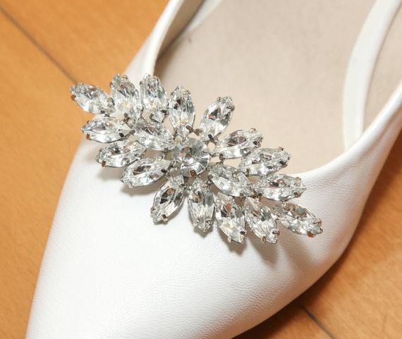 da320707fa A Pair Of Shoes Clip,Rhinestone Crystal Shoes Clip,Wedding Shoes Clips,Dance  Shoes Clip,High heel Shoes Clip,Bridesmaids Bride Shoes Clip