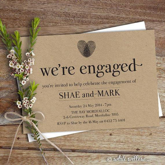 Engagement party evite customizable invitation templates.