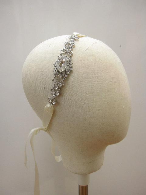 Свадьба - wedding headband,bridal hairpiece,rhinestone headband,wedding headpiece,bridal headband,bridal hair accessories,crystal wedding headband