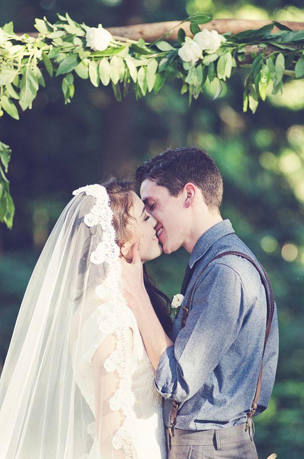Wedding - Organic   Rustic Wedding In An Oregon Pasture