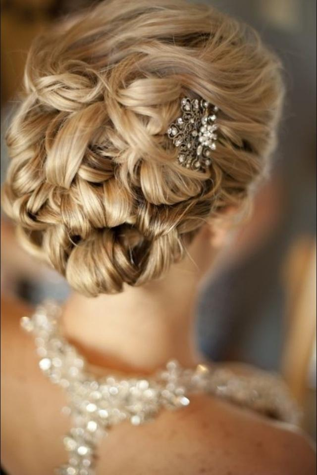Wedding - ♥~•~♥ Bridal Hairstyle & Accesories