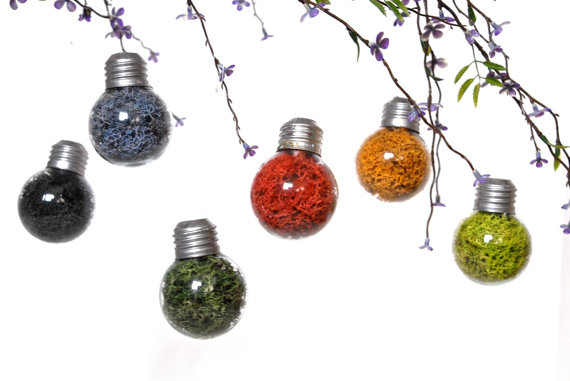 Sale 6 colorful mini lightbulb ornaments hanging wedding sale 6 colorful mini lightbulb ornaments hanging wedding decoration hanging holiday decor hanging party decoration christmas ornaments junglespirit Images