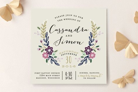 Hochzeit - Wedding Invitations/Save-the-Dates