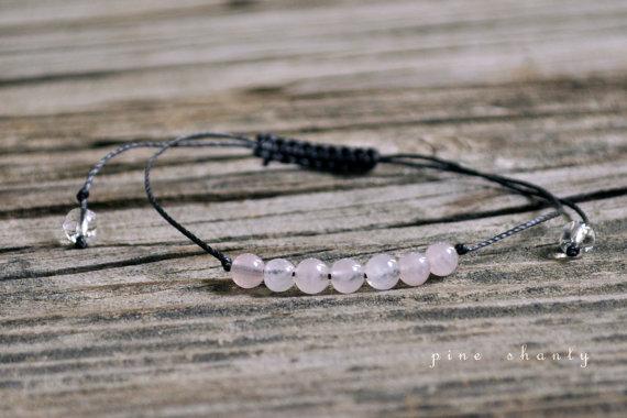 Свадьба - Rose Quartz, Love Meditation Bracelet, Good Luck, Minimalist Jewelry, Intent Bracelet, Yoga Bracelet, Fertility, Pregnancy, Bridal, Wedding