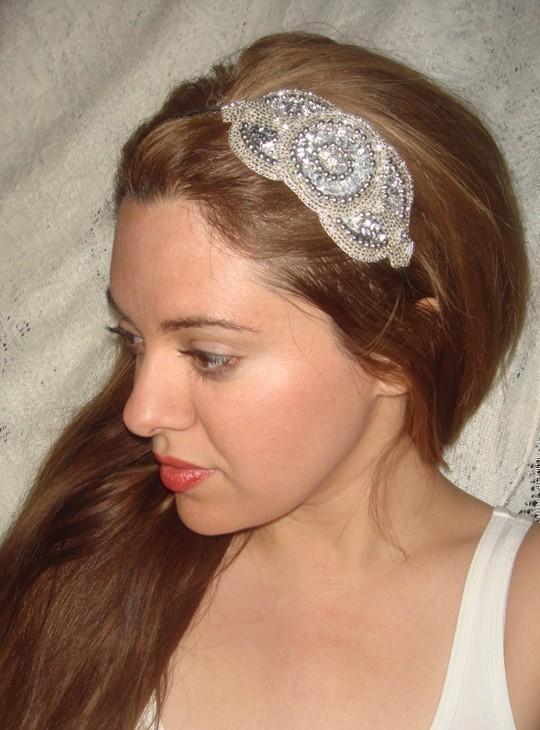 Headband- ROYALE SILVER c4139795e76