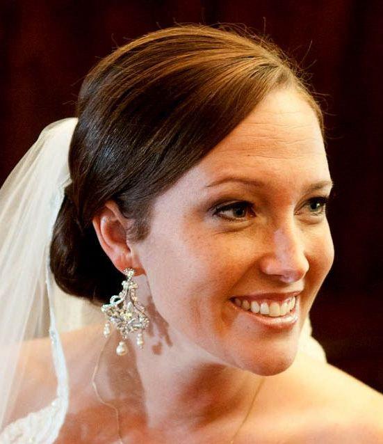 Свадьба - Pearl Chandelier Bridal Earrings, Art Deco Wedding, Silver Earrings, Swarovski Crystal Jewelry, CHANTELLE
