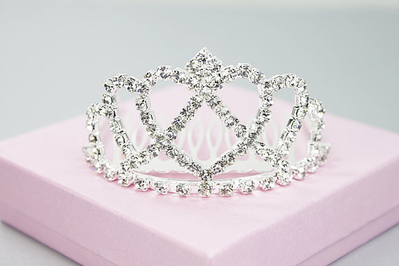زفاف - Rhinestone / Crystal Stone Tiara Comb for Bridal Wedding , Anniversary .