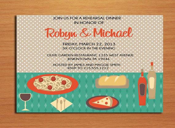 italian table wedding rehearsal dinner party invitation cards printable diy