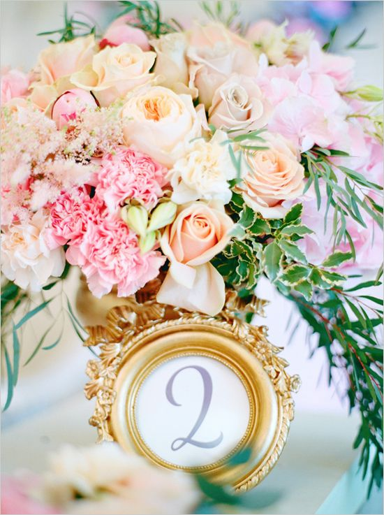 Свадьба - Heavenly Pink And Gold Wedding Ideas
