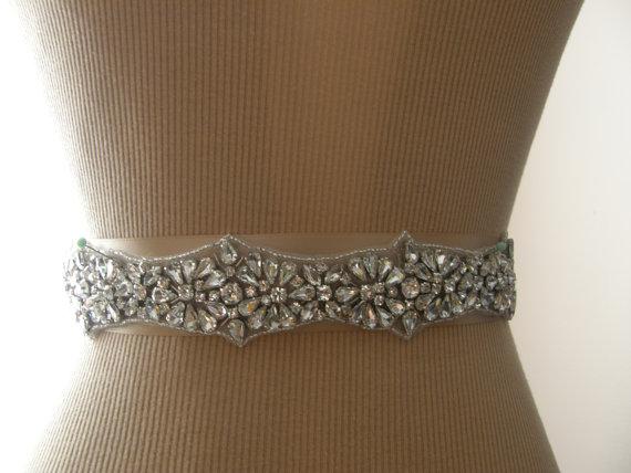 Свадьба - Wedding Belt, Bridal Belt, Bridesmaid Belt, Sash Belt, Wedding Sash, Bridal Sash, Belt, Crystal Rhinestone