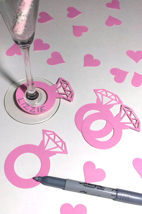 Mariage - He Put A Ring On It Drink Markers