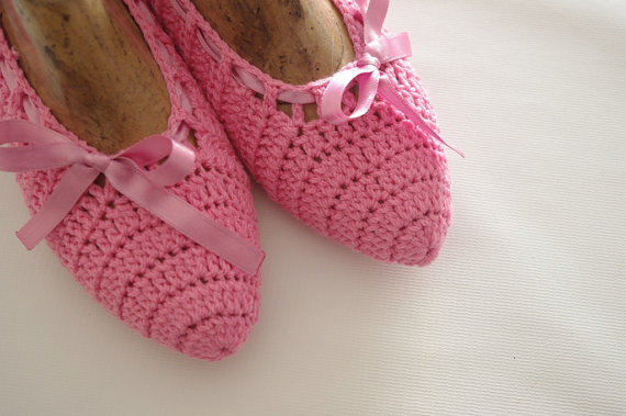 Mariage - Wedding Dance shoes slippers pink