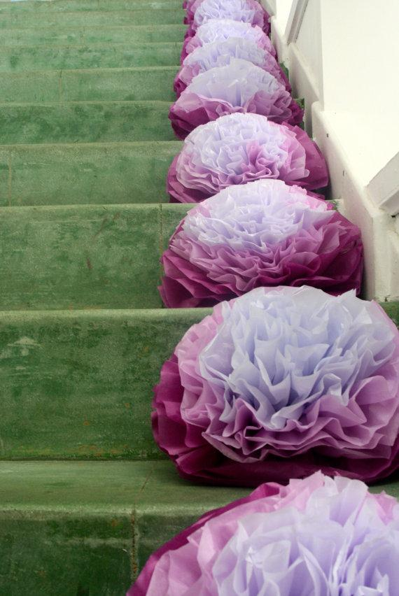 Radiant Orchid Wedding Ceremony Decoration