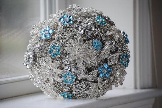 Mariage - Custom Order Brooch Bridal Bouquets