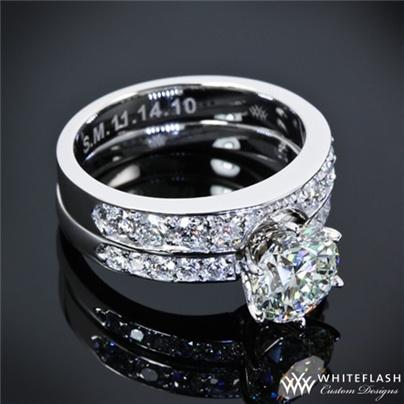 Hochzeit - Engagement Rings Sets And Bridal Sets