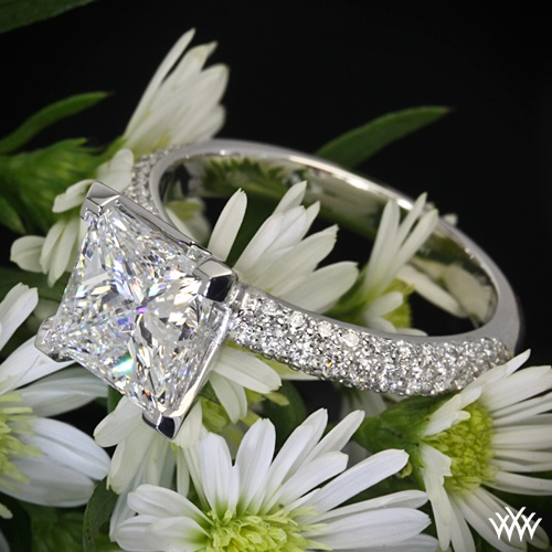 Hochzeit - Pave Engagement Rings And Wedding Bands - Pave'd In Diamonds