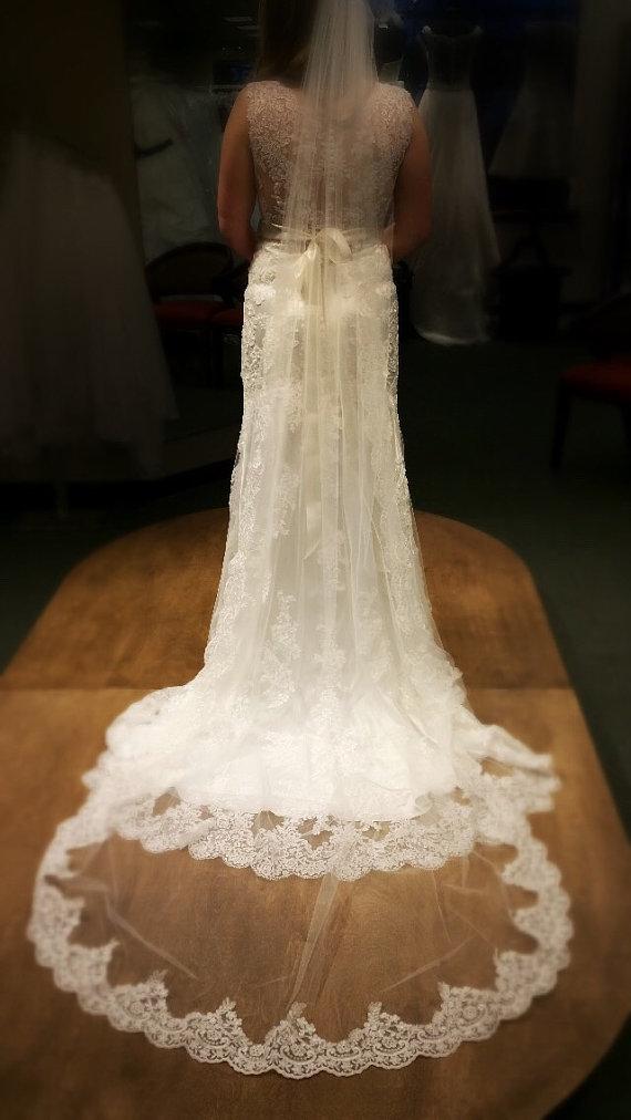 Mariage - Lace Veil