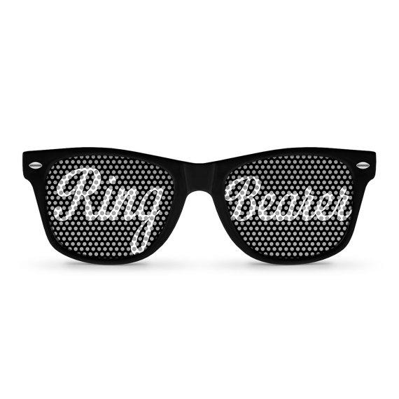 Hochzeit - Ring Bearer Party Wayfarer Sunglasses