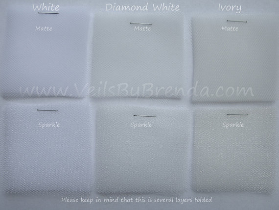 Mariage - Sample Swatch for Bridal Illusion Tulle Veil