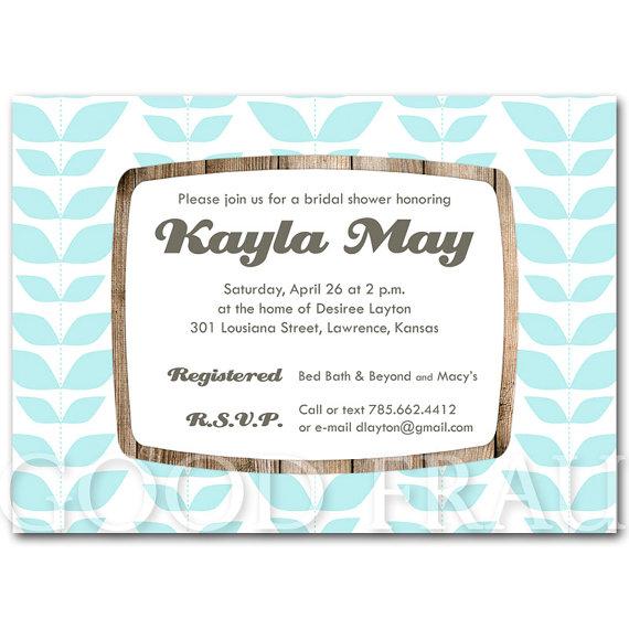 Bridal Shower Invitation Baby Printable Digital Diy Green Blue Pink Purple Yellow