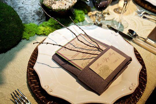 Wedding - San Francisco Ceremony Magazine Tabletop Inspiration