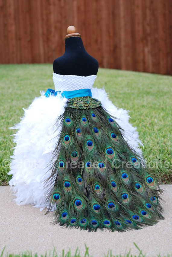Peacock Feather Dress Fashion Dresses