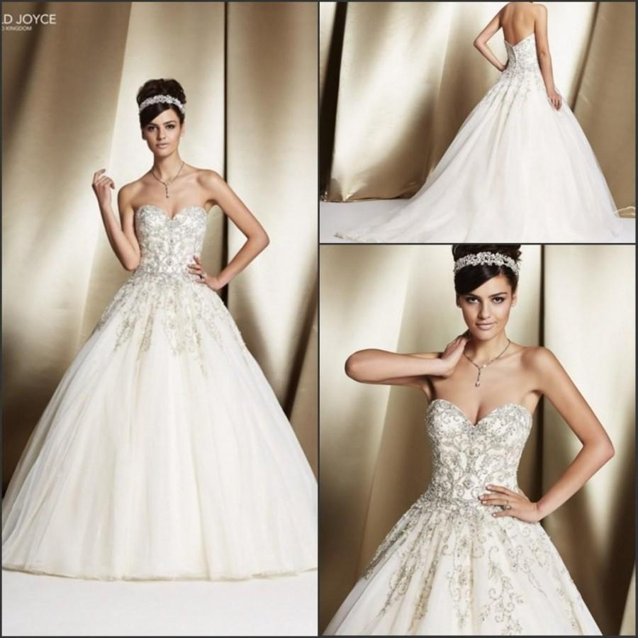 Romantic veni infantino wedding dresses with beads sequins for Custom wedding dress online