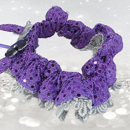 Wedding - Purple Garter - Purple Wedding - Silver and Purple Wedding - Wedding Garter - Wedding Garter Belt - Bridal Accessories - Bridal Shower Gift
