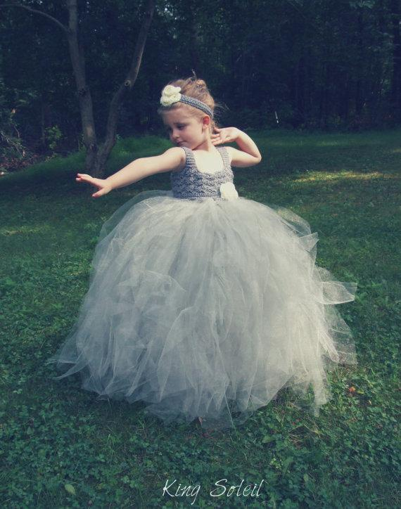 Wedding - PRE-ORDER Lily of the Valley Flower Girl Dress