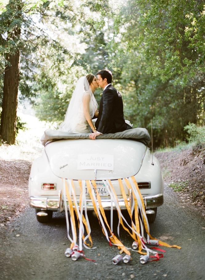 Свадебные идеи на машину своими руками