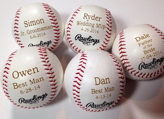 Baseball Wedding Gifts: 10 Rawlings Baseballs