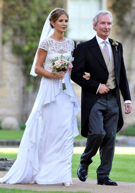 Свадьба - Millie Mackintosh's Wedding Wardrobe: Vintage Alice Temperley Waterfall Gown