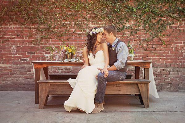 Свадьба - California Hippie Chic Inspiration