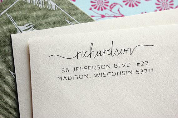 زفاف - Address Stamp - Self Inking Address Stamp - Moving Announcement - Wedding Gift - Housewarming Gift