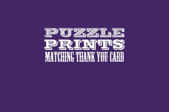 زفاف - Matching Thank you Card to any order