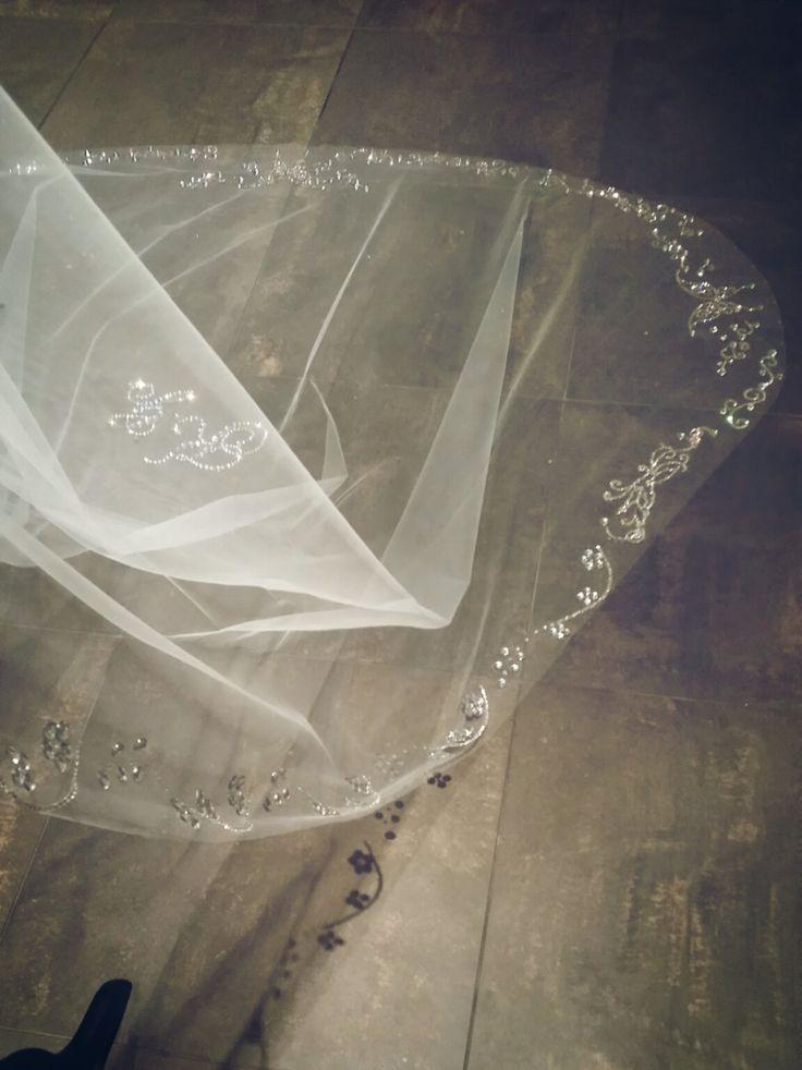 Mariage - The MOST Beautiful Wedding Veil With Crystals