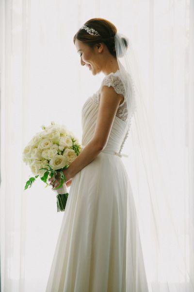Свадьба - White-on-White Luxe Sunset Boulevard Hotel Wedding