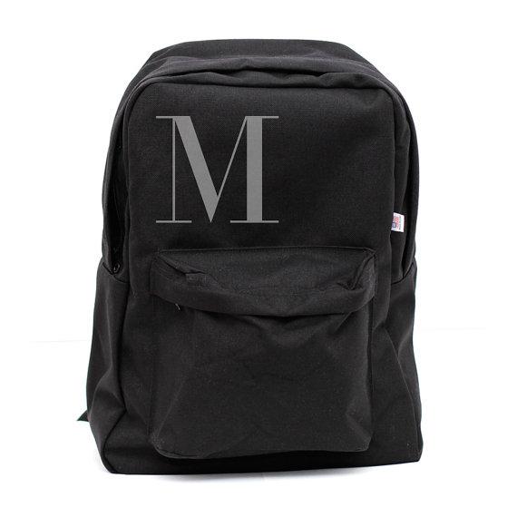 Свадьба - Backpack: Classic Monogram Backpack, (Men & Women) Personalized Backpack, Personalized Groomsmen Gift, Men's Backpack, Women's Backpack