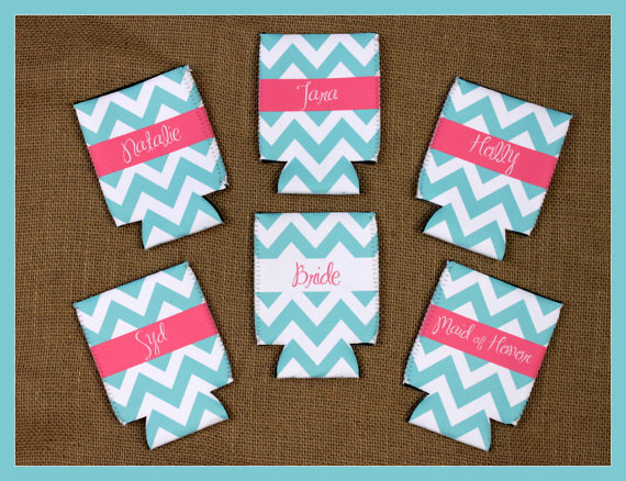 Can Koozie Customizable Bridal Party Gifts Bachelorette Party ...