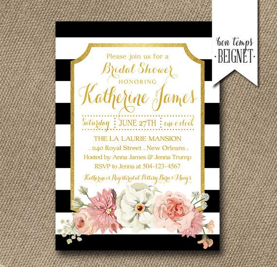 Wonderful Black And White Stripes Wedding Invitation From Cheree Berry In Addition  Deposit For MAYRA Black And