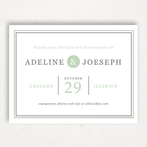 Invitation printable save the date template 2265361 for Save the date templates free download