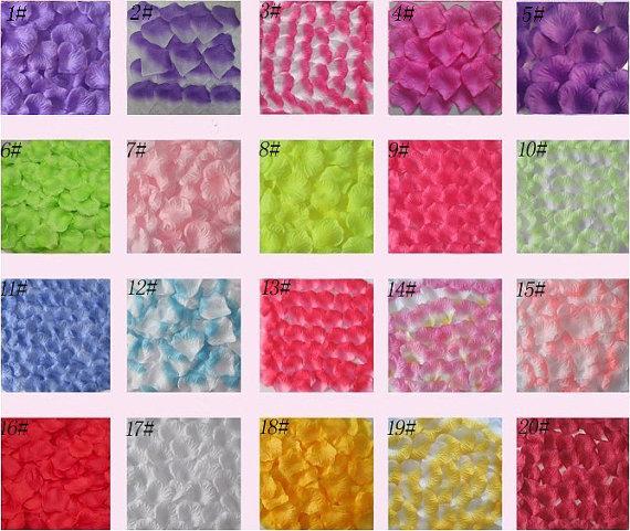 Wholesale 500pcs fabric rose petals silk flower for diy accessoryor wholesale 500pcs fabric rose petals silk flower for diy accessoryor wedding decoration mightylinksfo